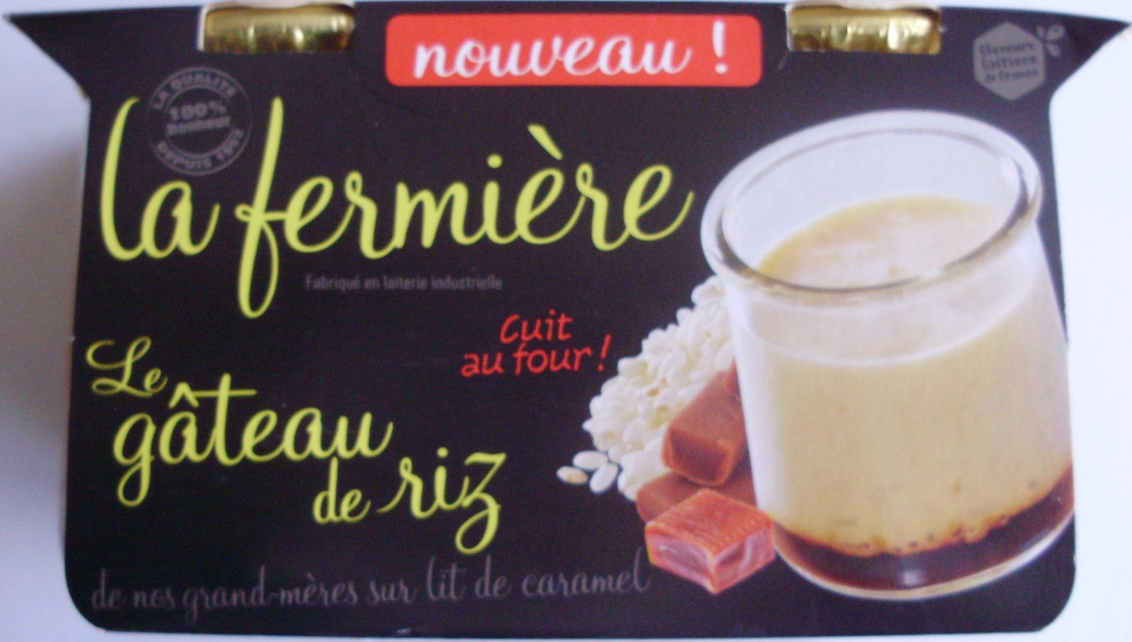Le gâteau de riz - Produit - fr