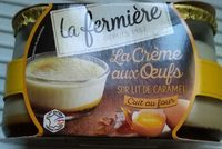 La crème aux oeufs - Produit