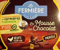 La Mousse au Chocolat Noir Pérou - Product - fr