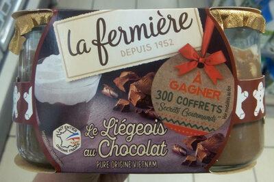 Le Liégeois au Chocolat - Product - fr