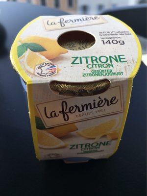 La fermière citron - Product - fr