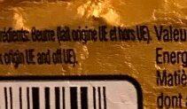Beurre - Ingrédients - fr