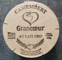 Camembert Grancœur - Product - fr