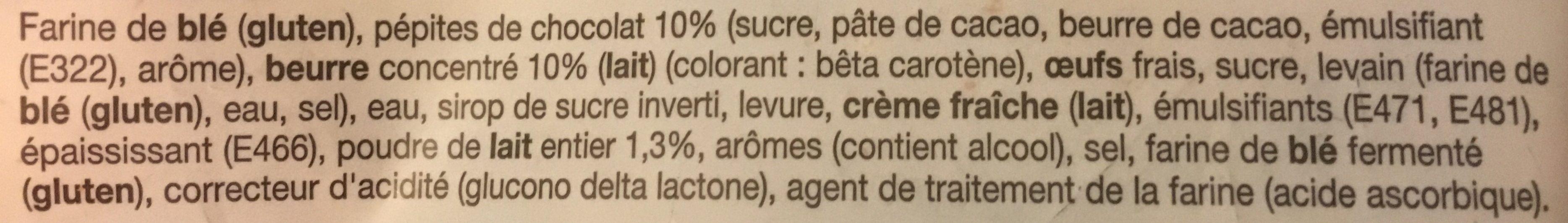 10 pains au lait aux p pites de chocolat leclerc 350 g - Acide citrique leclerc ...