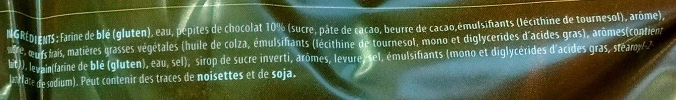 La Couronne des Rois Briochée aux Pépites de Chocolat - Ingredients