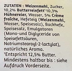 Gâche Original französische - Ingredients