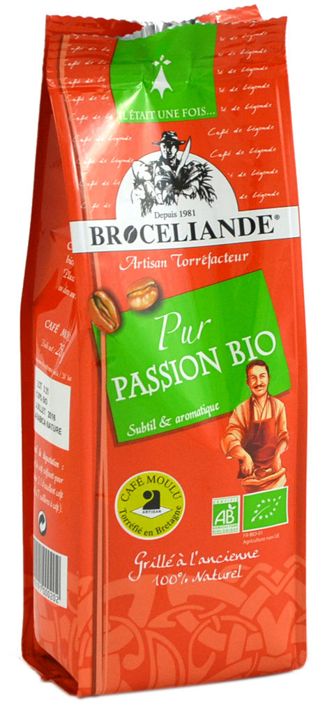 Café de Brocéliande Pur Passion Bio - Product - fr