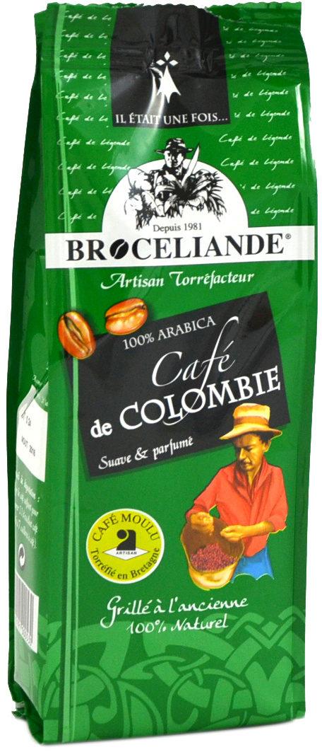 Café de Colombie - Ingrediënten - fr