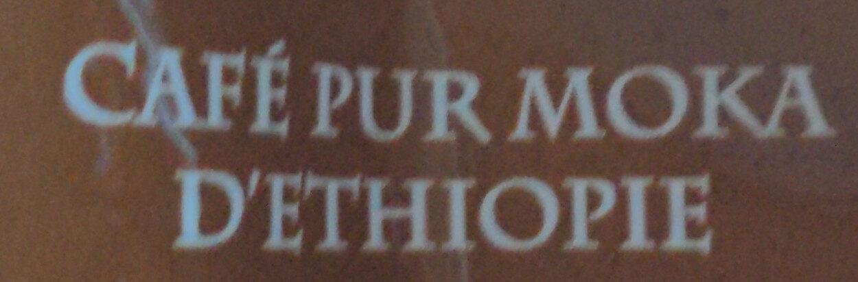 Pur moka d'Éthiopie - Ingrediënten - fr