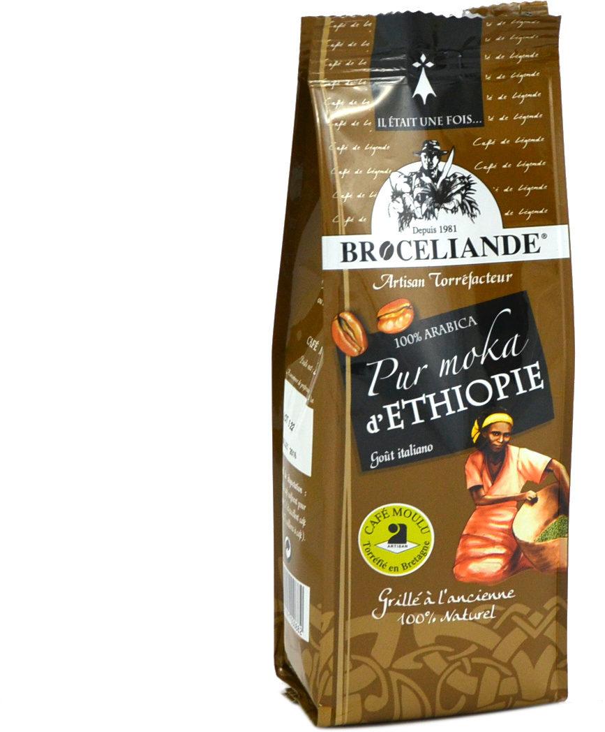 250G Cafe Moulu Moka Ethiopie - Ingrediënten - fr