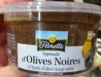 Tapenade d'Olives Noires à l'huile d'olive vierge extra - Produit - fr