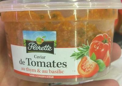 Caviar de Tomates au thym & au basilic - Produit - fr