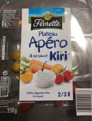 Plateau Apéro & sa sauce Kiri - Produit