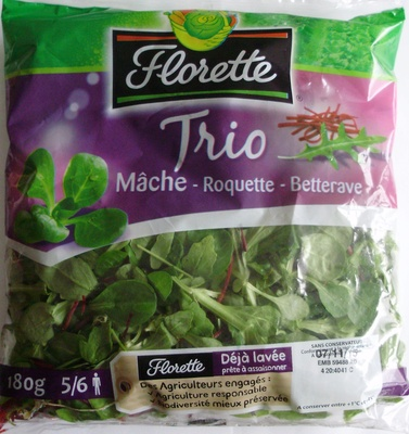 Trio Mâche-Roquette-Betterave (5/6 portions) - Product - fr