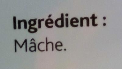Mâche - Ingrédients - fr