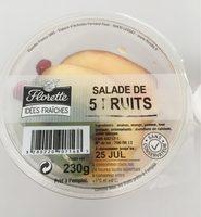 Salade de fruits 5 fruits - Produit