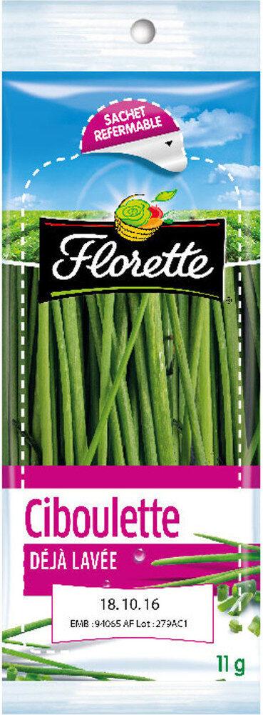 Florette - Ciboulette 11g - Product - fr
