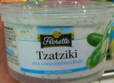 Tzatziki aux concombres frais - Produit