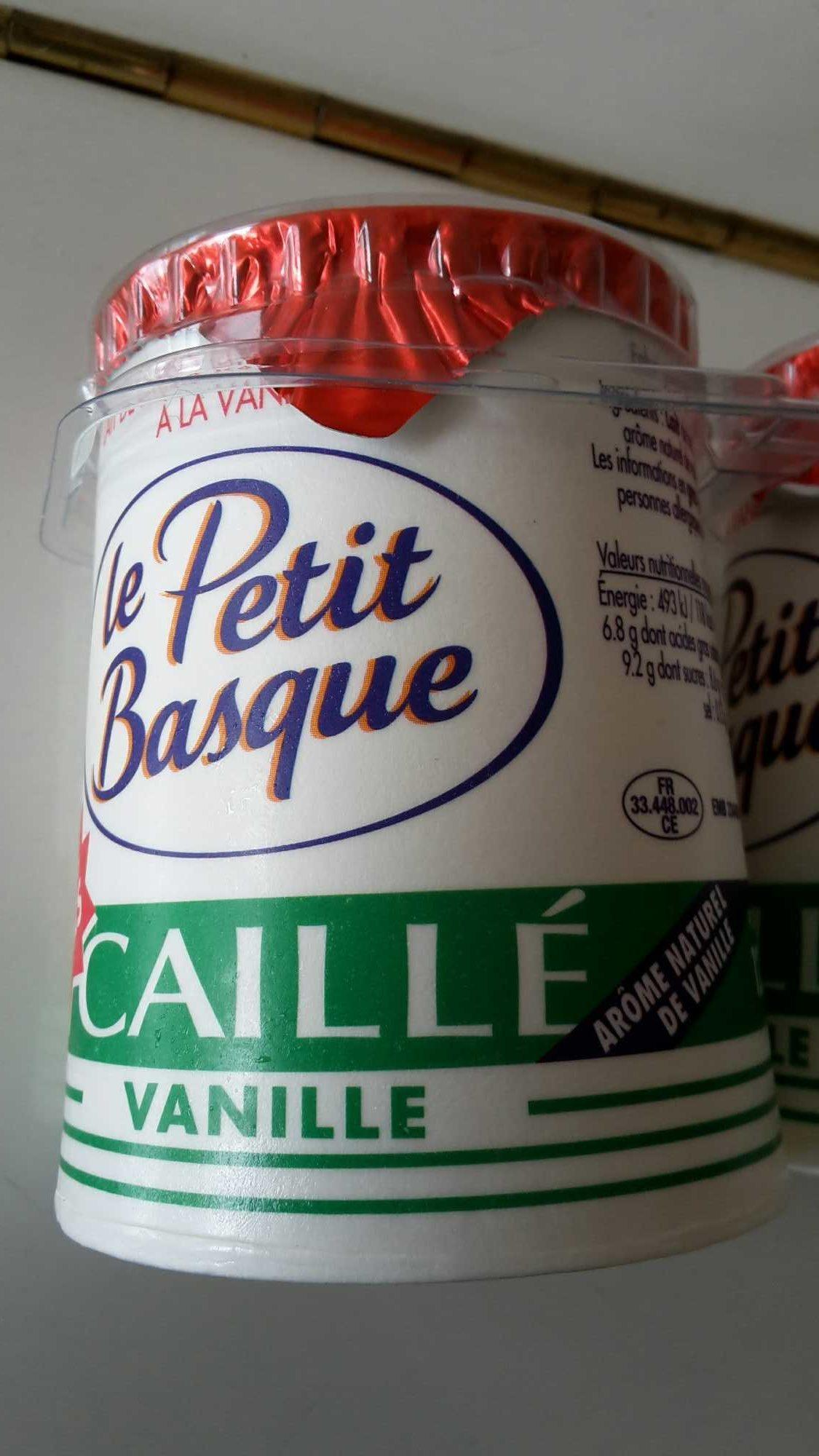 Caillés au lait de brebis à la vanille - Product - fr