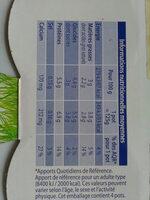Yaourt de brebis - Ingrediënten - fr
