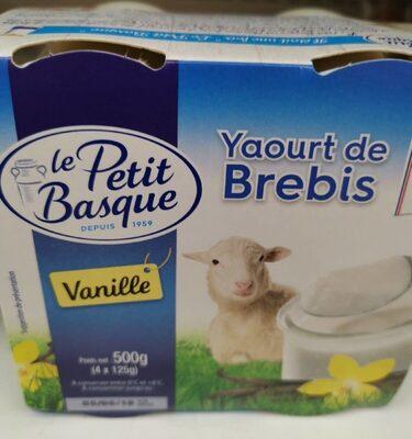 Yaourt de brebis - Product - fr