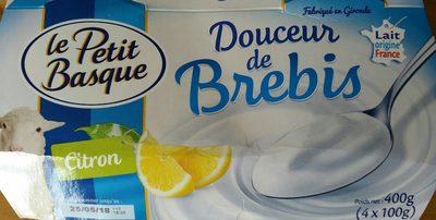 Douceur de brebis au citron - Produit