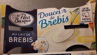 Douceur de brebis citron - Product - fr