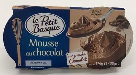 Mousse au Chocolat sur Ganache Chocolat - Product - fr
