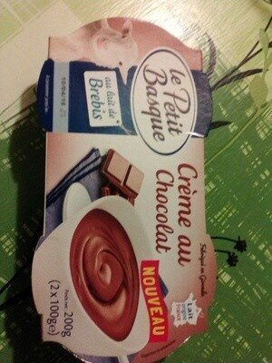 Crème chocolat au lait de brebis - Product - fr