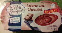 Crème chocolat au lait de brebis - Produit