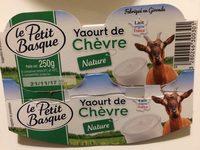 Yaourt de chevre - Produit - fr