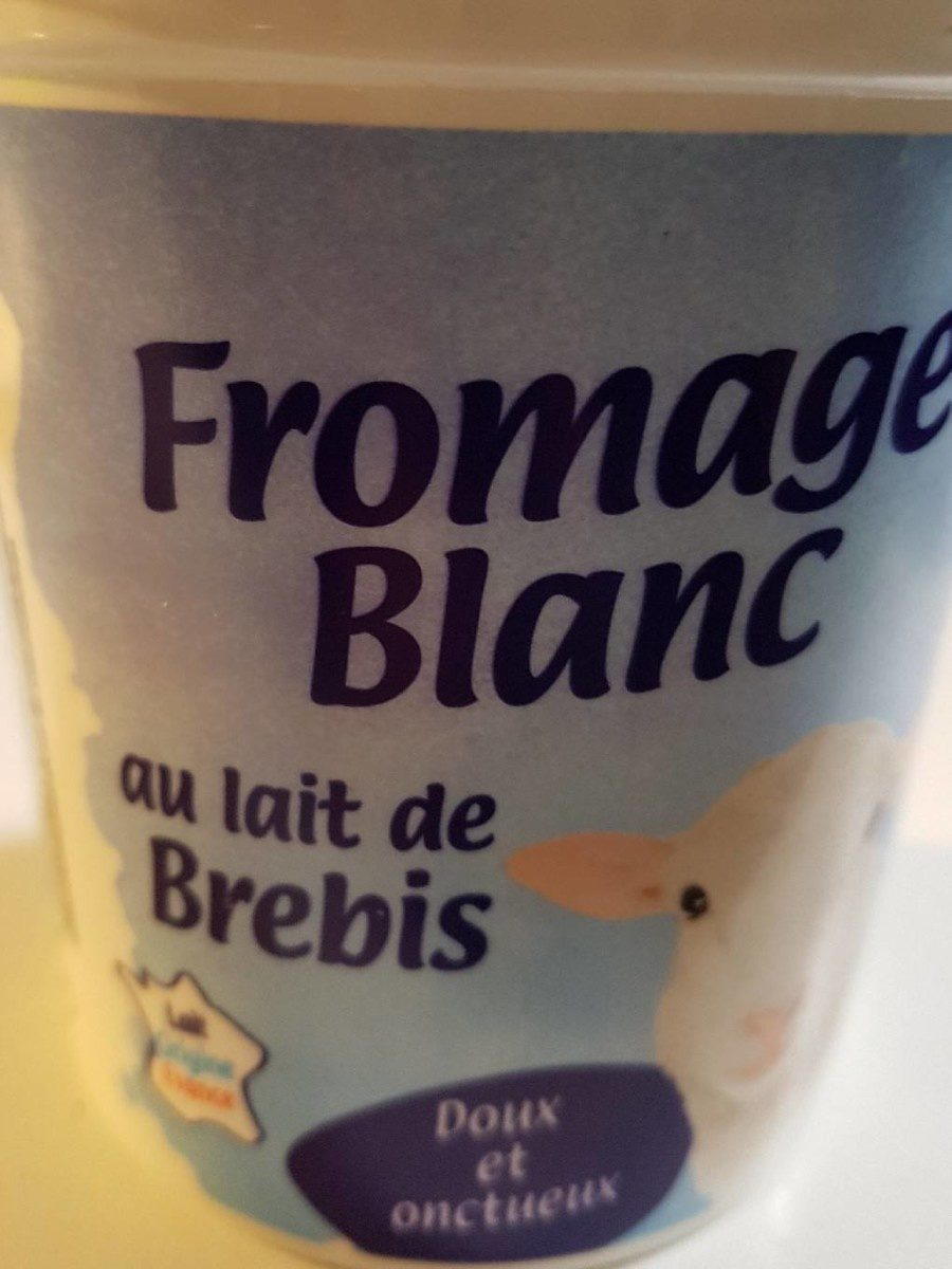 Fromage blanc de brebis - Product