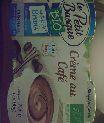 Crème au café au lait de brebis bio - Product