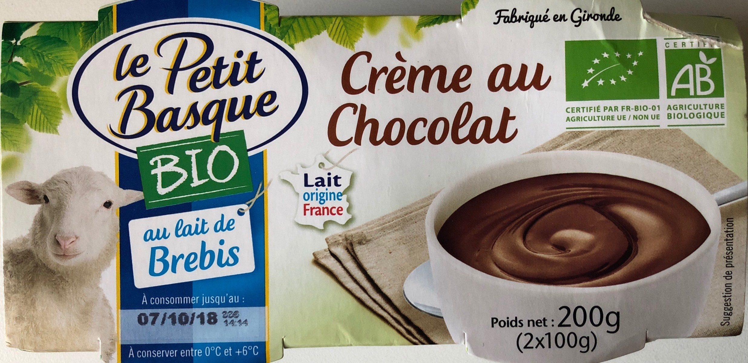 Crème au chocolat - Product