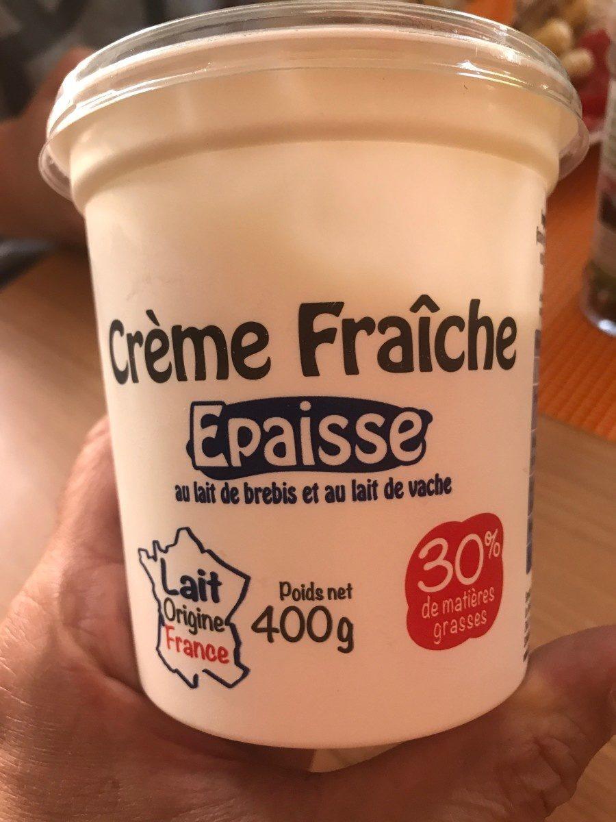 Crème fraîche épaisse (30% MG) - Product
