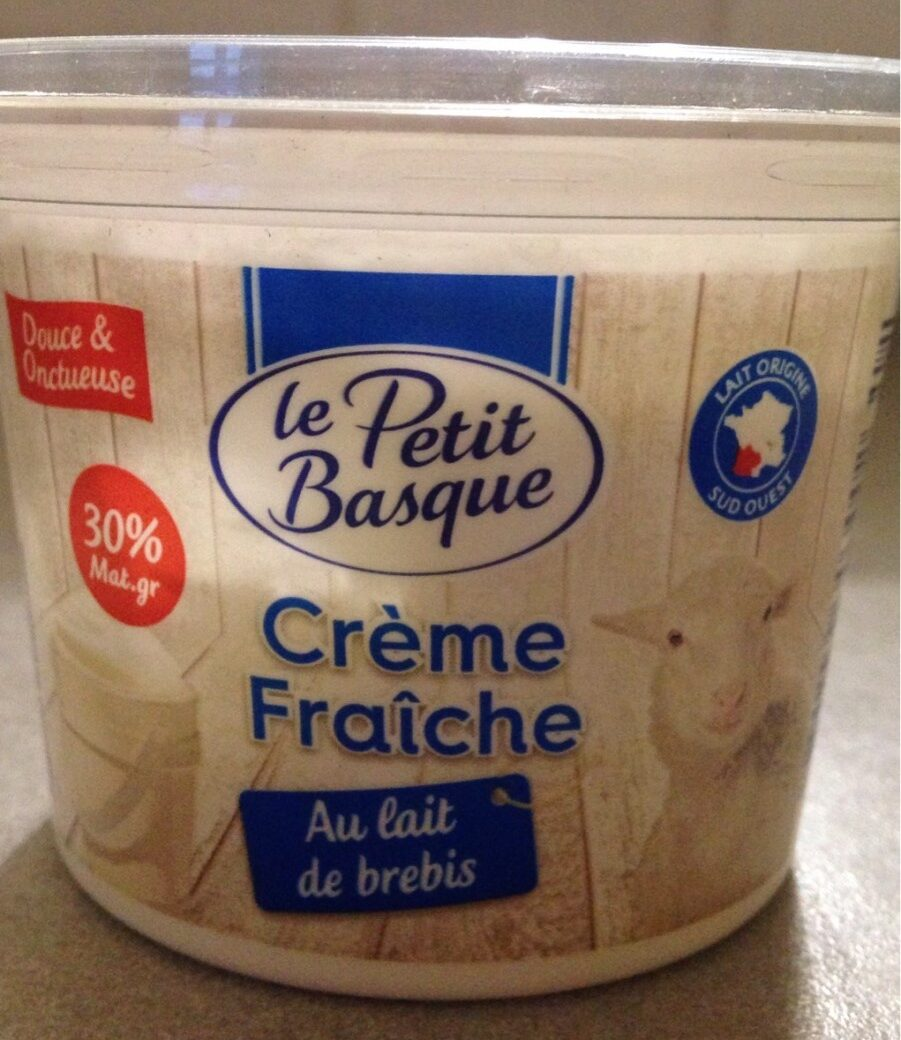 Crème fraiche au lait de brebis - Produit - fr
