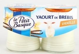 Yaourt de lait de brebis arômatisé à la vanille - Product - fr