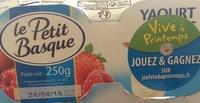 Yaourt de brebis sur lit de fruits rouges (3 % MG) - Produit - fr