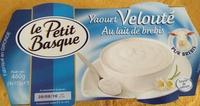 Yaourt Velouté au lait de Brebis - Produit