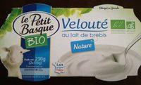Velouté au lait de brebis nature - Product - fr