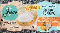 Dessert vegetal au lait de coco - Produit - fr