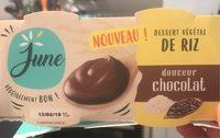 Dessert végétal de riz - Douceur chocolat - Product