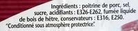 Lardons fumés - Ingrediënten - fr