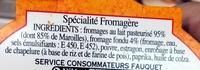 Boulette d'Avesnes - Ingrediënten