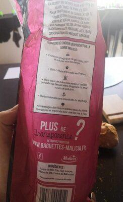 Tradition - Valori nutrizionali - fr