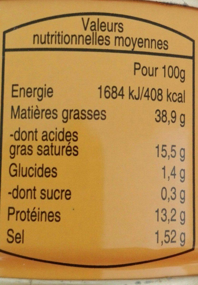 PATÉ DE FOIE DE PORC - Ingrediënten - fr