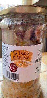 Delice de canard au foie gras - Produit - fr
