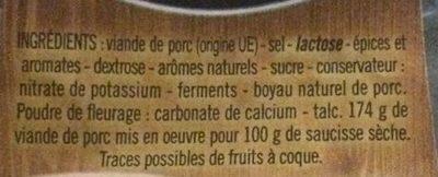 Mâconnais - Ingrédients - fr