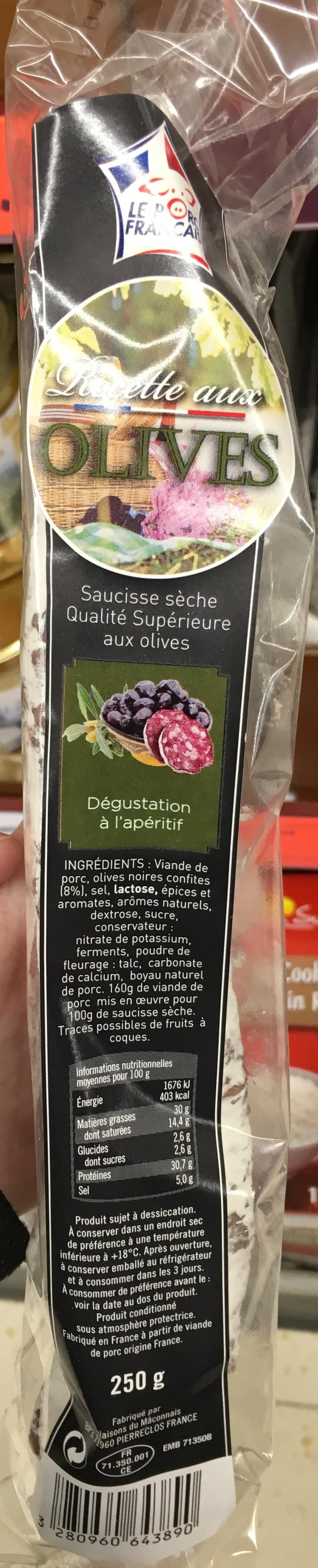 Recette aux Olives - Product - fr