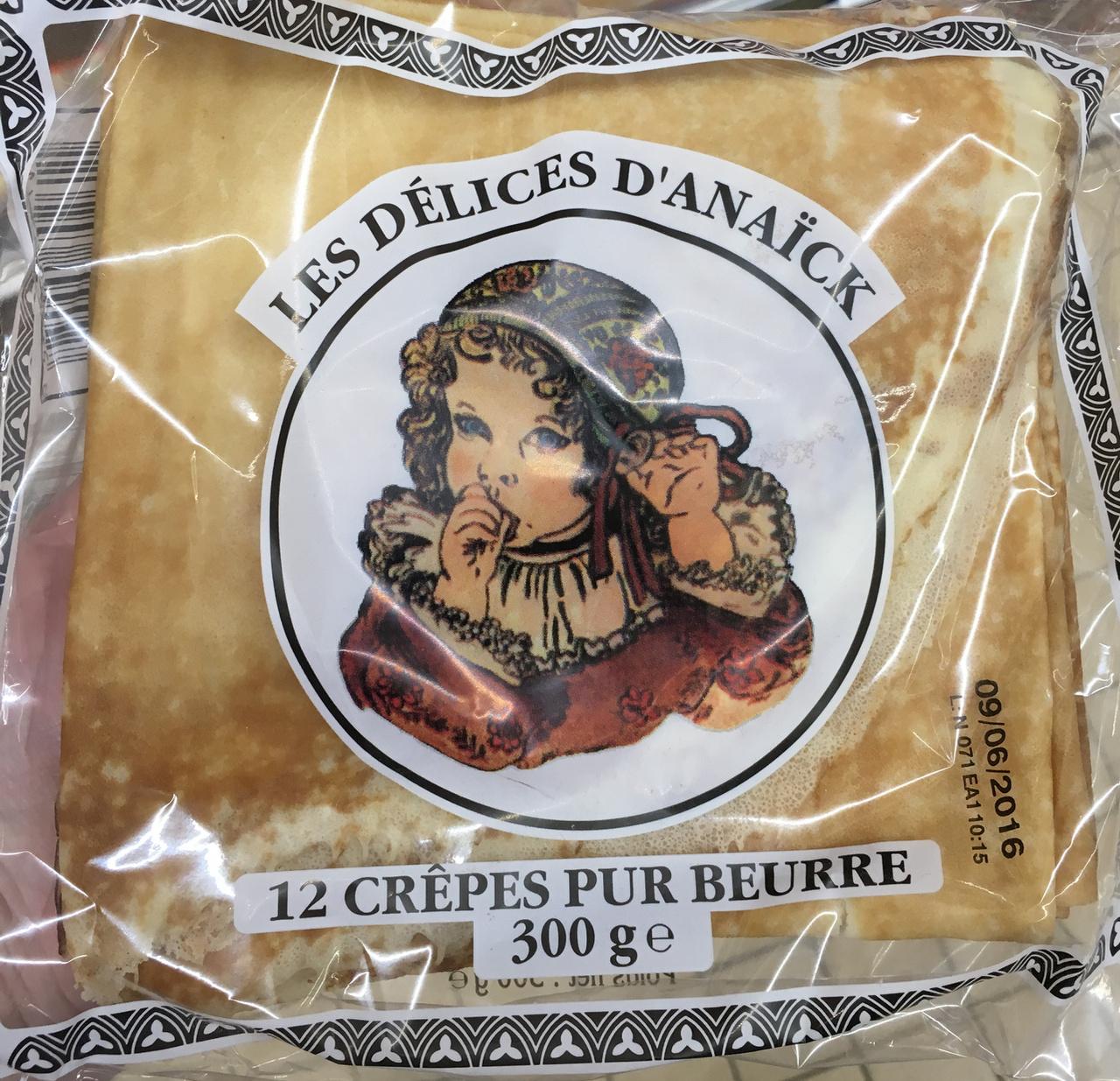 12 crêpes pur beurre - Produit - fr